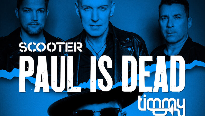 "Neue Scooter Single - Scooter x Timmy Trumpet mit ""Paul Is Dead"""